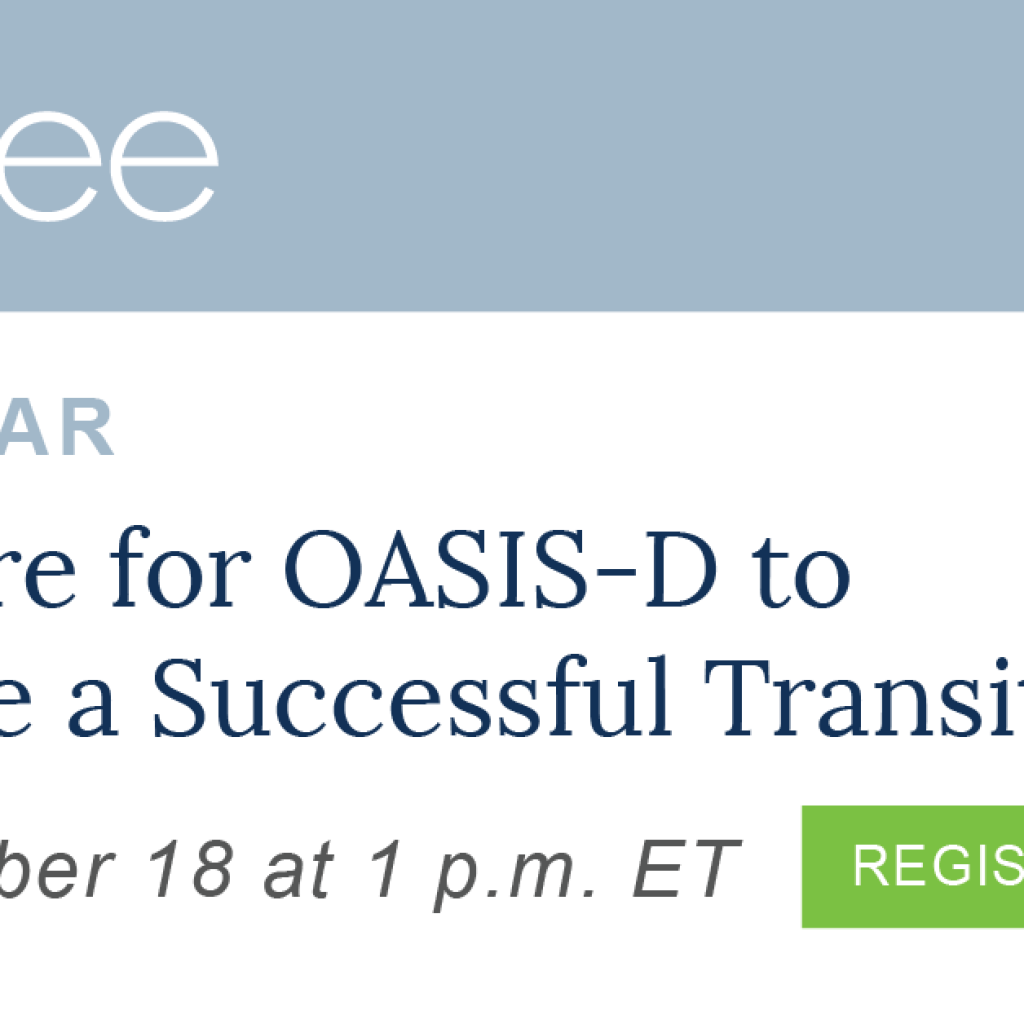 Mcbee Presents Webinar For Home Healths Successful Transition To