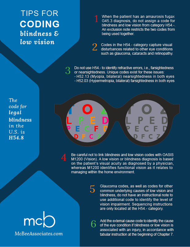 Know the Rules when Coding Blindness and Low Vision