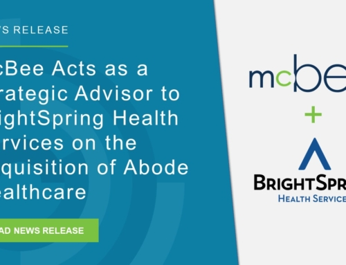 McBee Acts as a Strategic Advisor to BrightSpring Health Services on the Acquisition of Abode Healthcare